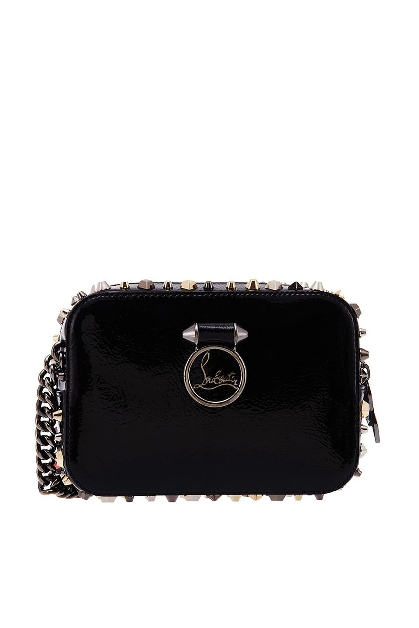 Черная сумка Rubylou Mini Vintage Christian Louboutin