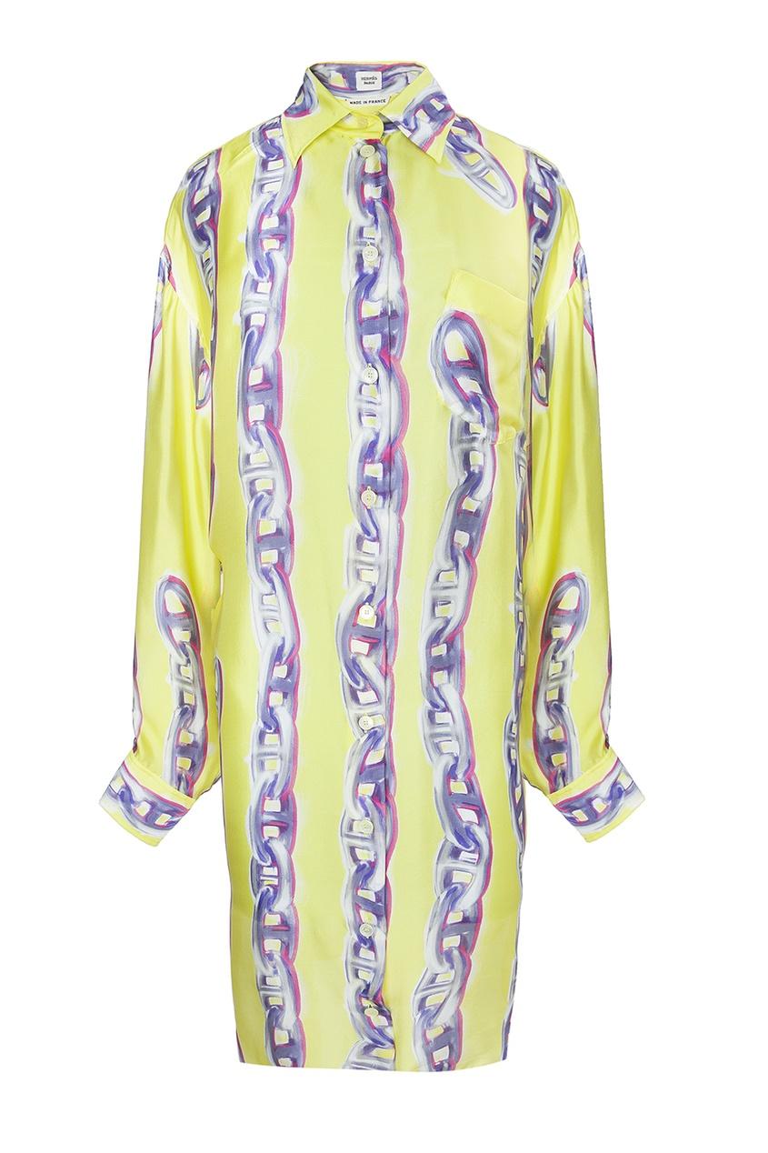 Шелковое платье (90-е гг.)