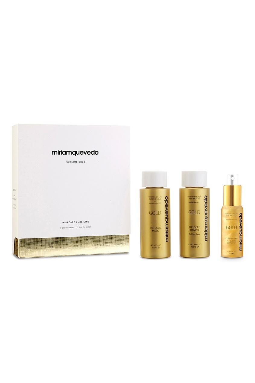 Miriamquevedo Набор-люкс для интенсивного питания и восстановления Sublime Gold Global Rejuvenation Set золотой спрей лосьон ultra brilliant the sublime gold lotion