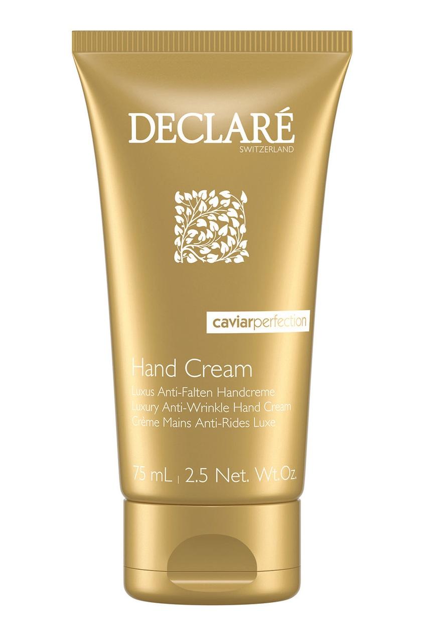 Declare Luxury Anti-Wrinkle Hand Cream Крем-люкс для рук против морщин с экстрактом черной икры, 75 ml антивозрастной уход declare крем для активных anti wrinkle cream sportive объем 75 мл
