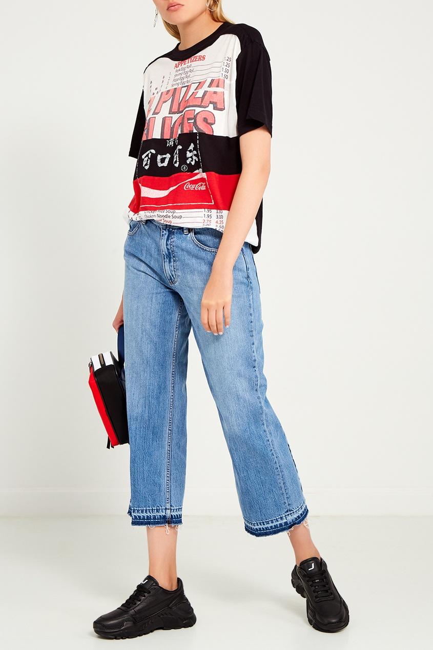 женские джинсы marc jacobs, голубые
