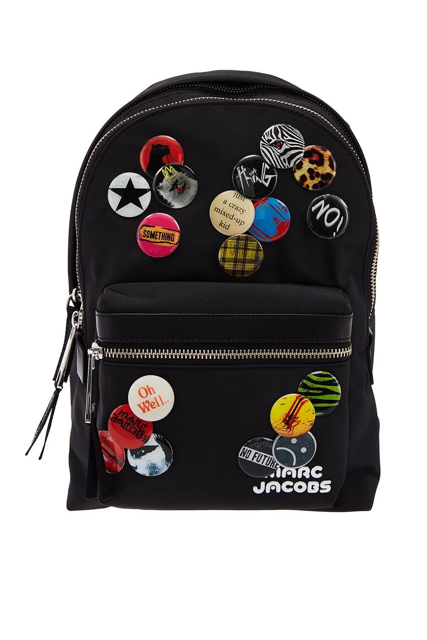 Текстильный рюкзак со значками