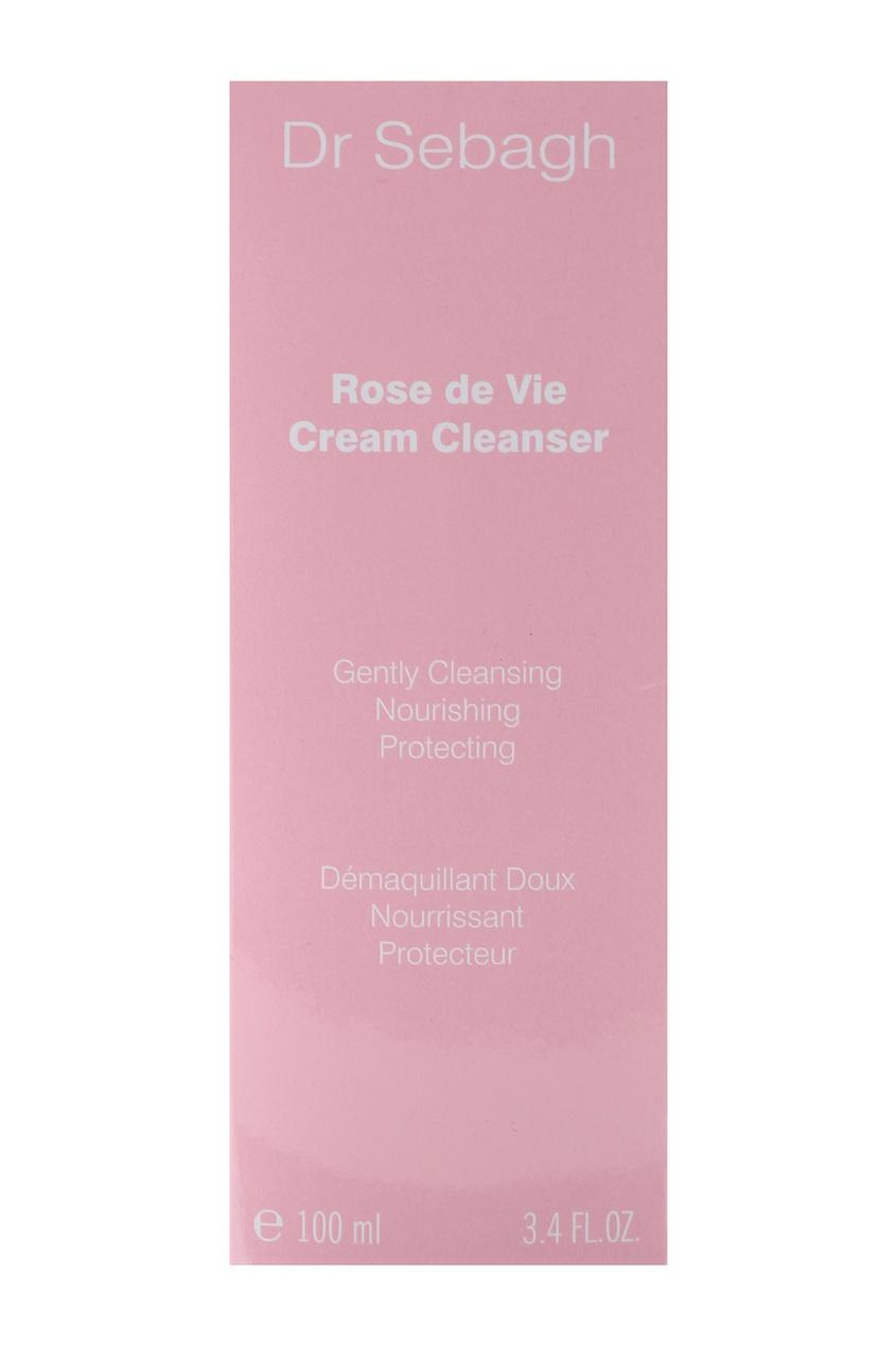 Нежный очищающий крем для лица Роза Жизни ROSE DE VIE CREAM CLEANSER, 100 ml