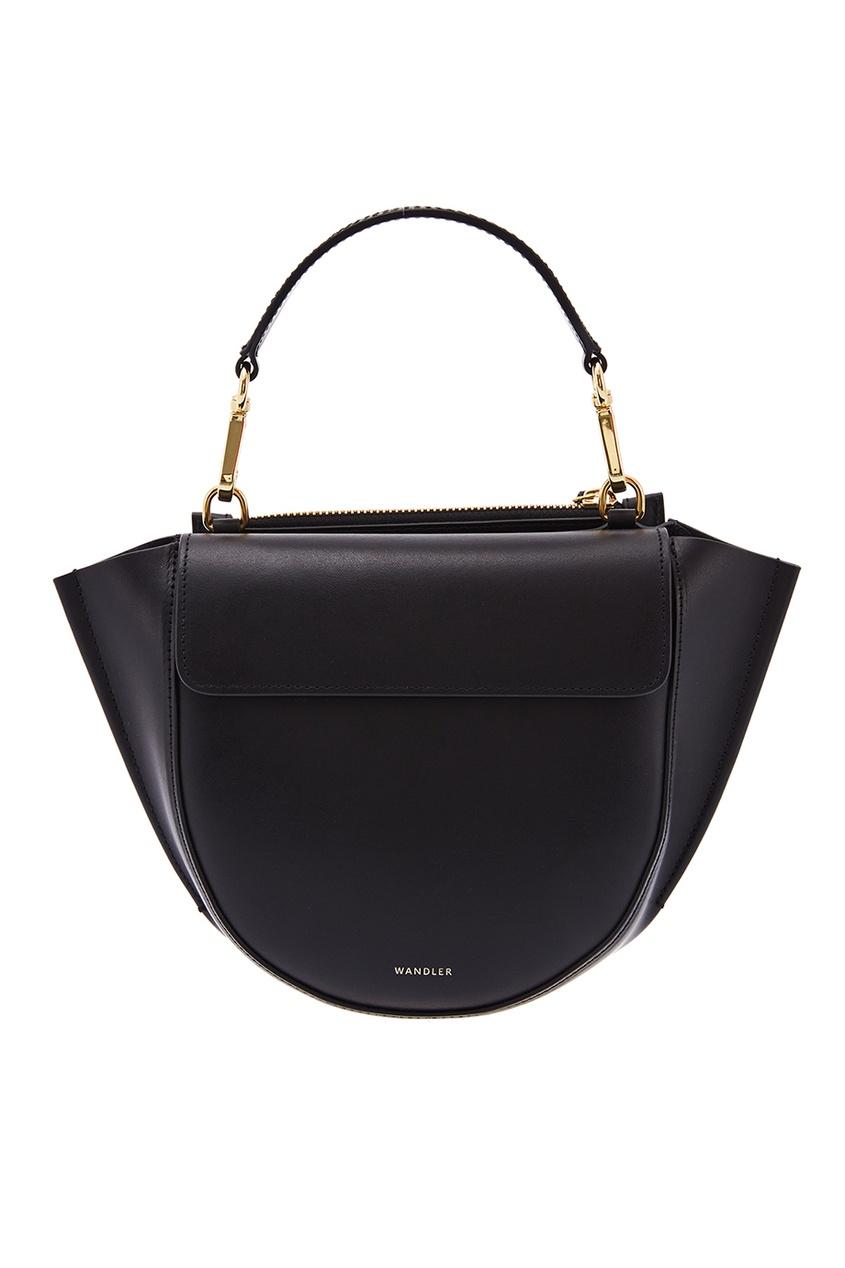 Wandler Кожаная сумка Hortensia Mini Black
