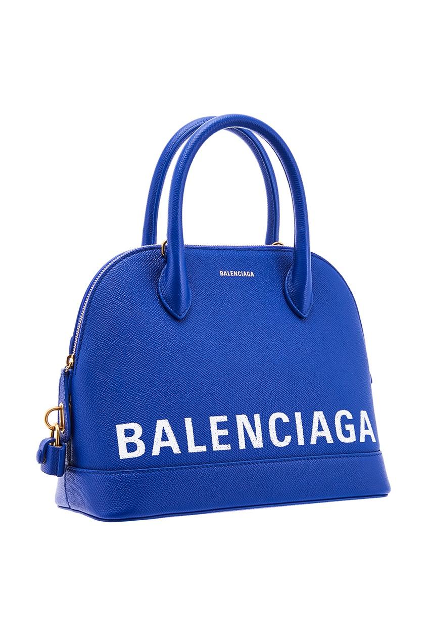 женская сумка balenciaga, синяя
