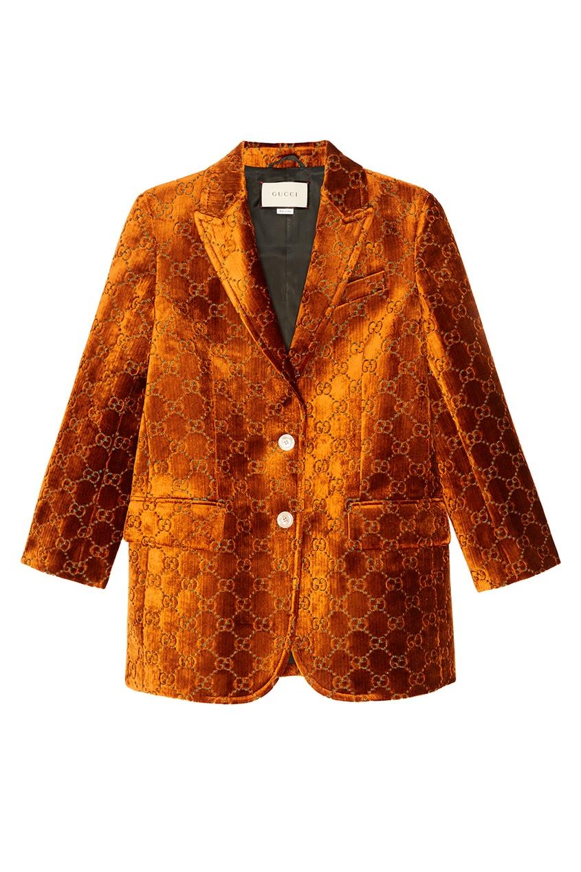 Gucci Жакет с монограммами gucci черный жакет с монограммами