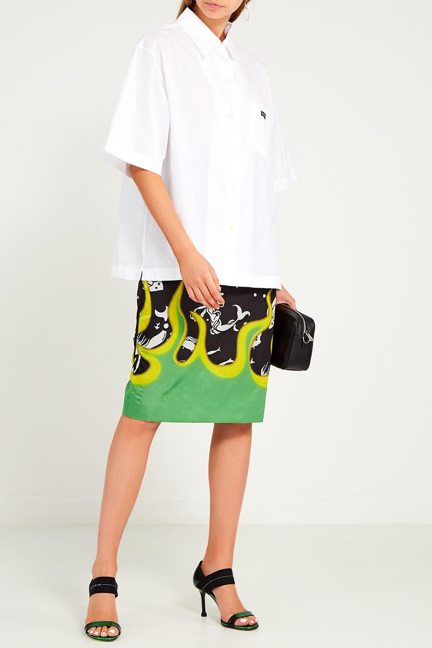женская юбка prada