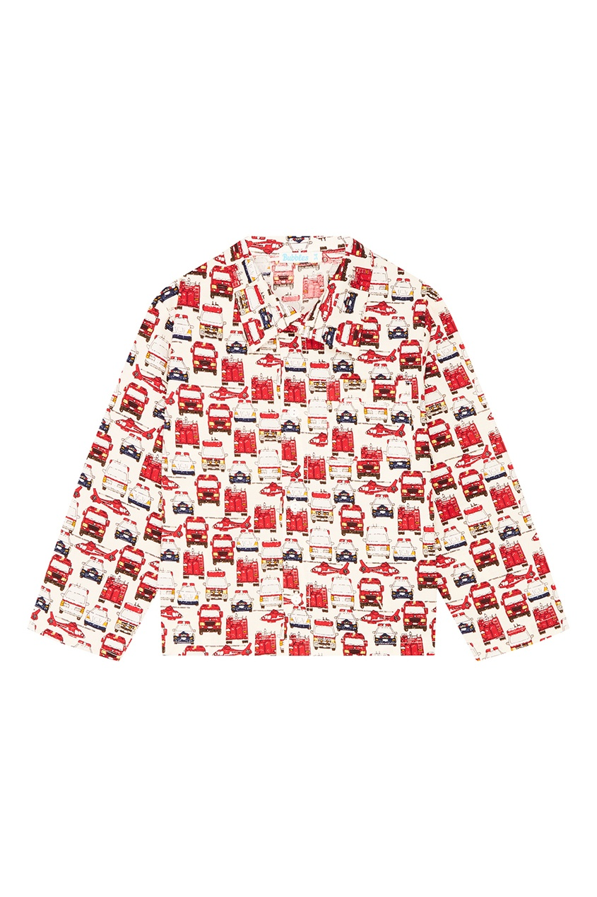Пижама с принтом Bubbles