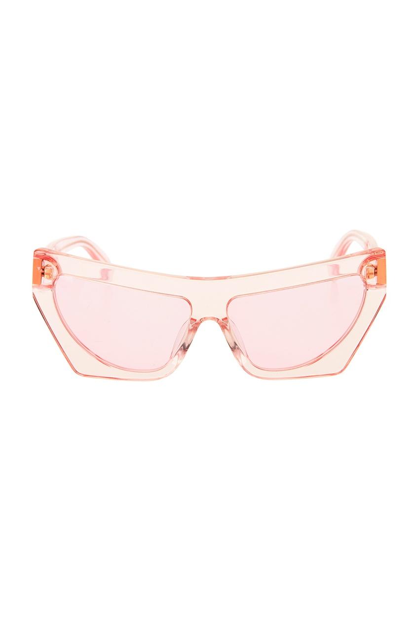 Прозрачные солнцезащитные очки Fakoshima x Outlaw Moscow