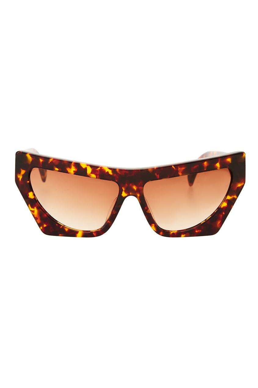 Пятнистые солнцезащитные очки Fakoshima x Outlaw Moscow