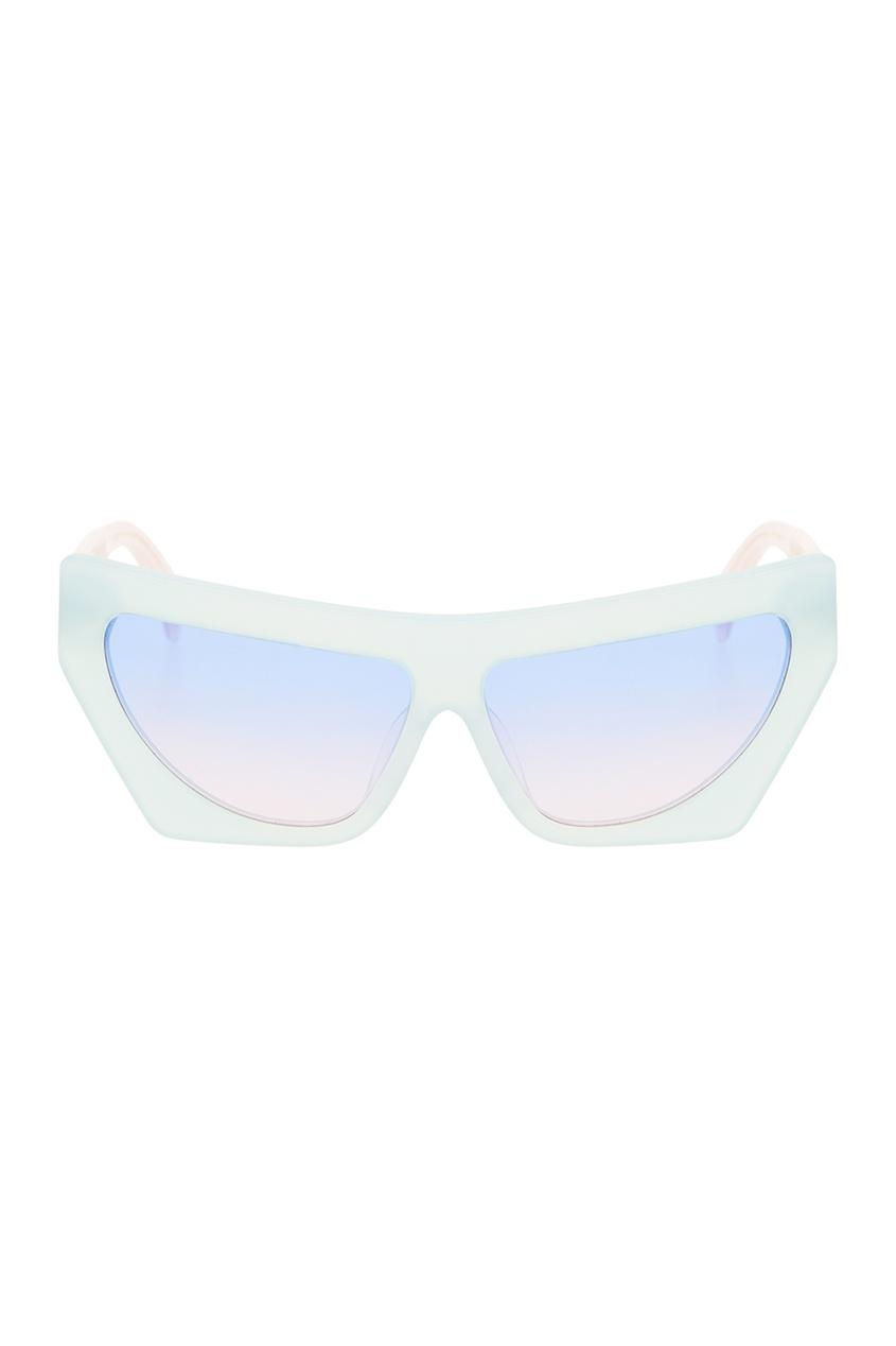 Голубые солнцезащитные очки Fakoshima x Outlaw Moscow