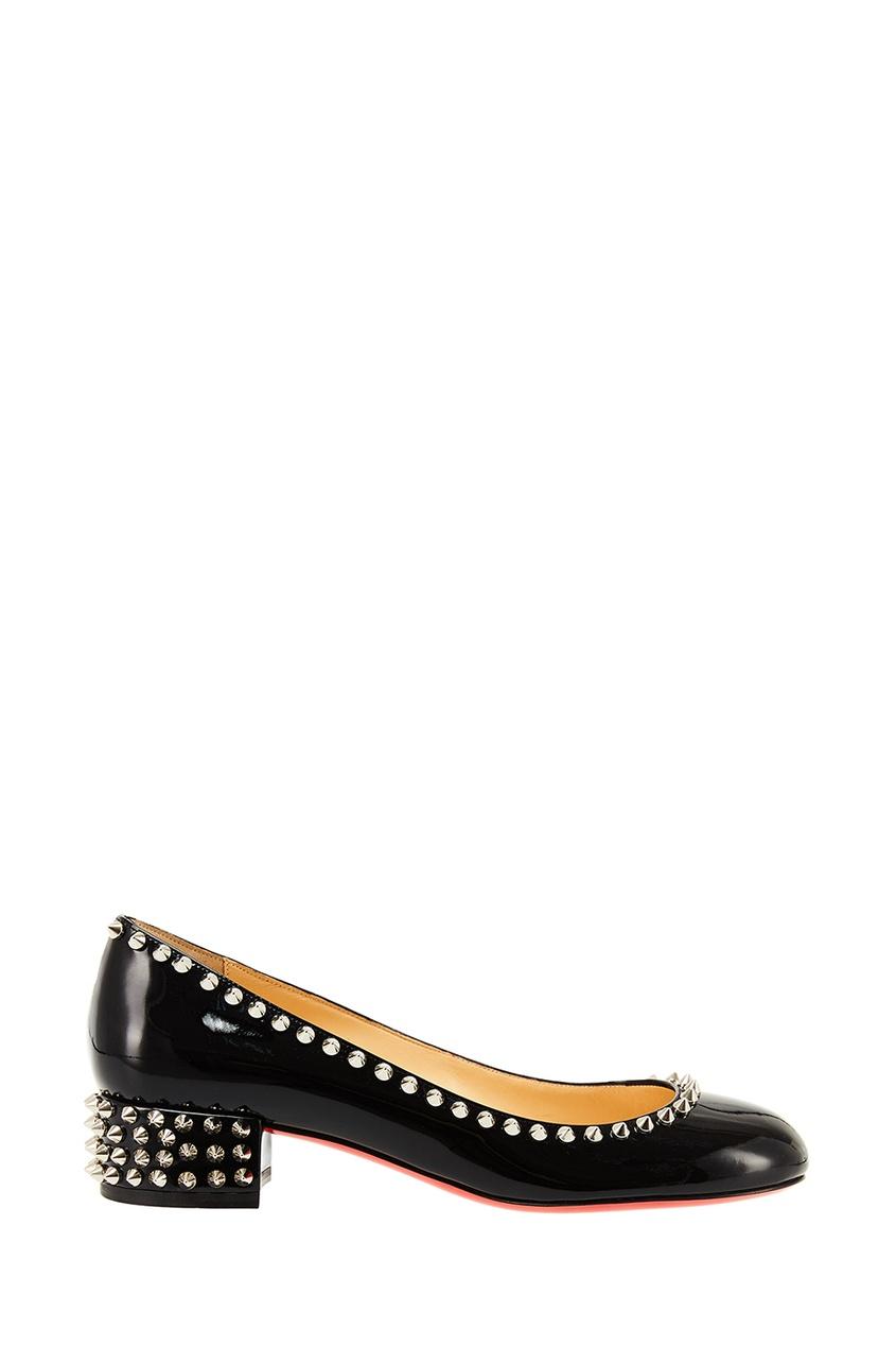 Черные туфли Agnes 30