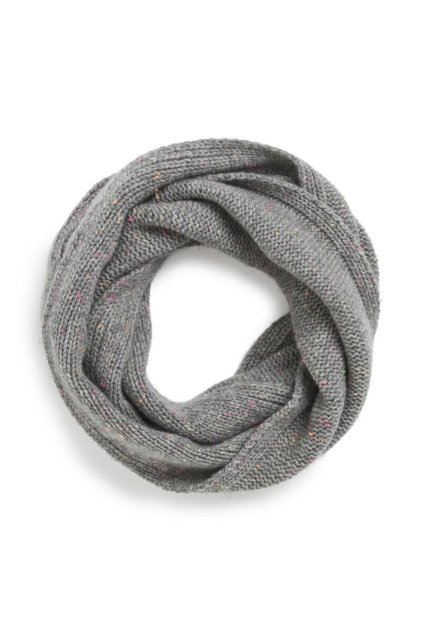 Bonpoint Снуд шерстяной серый