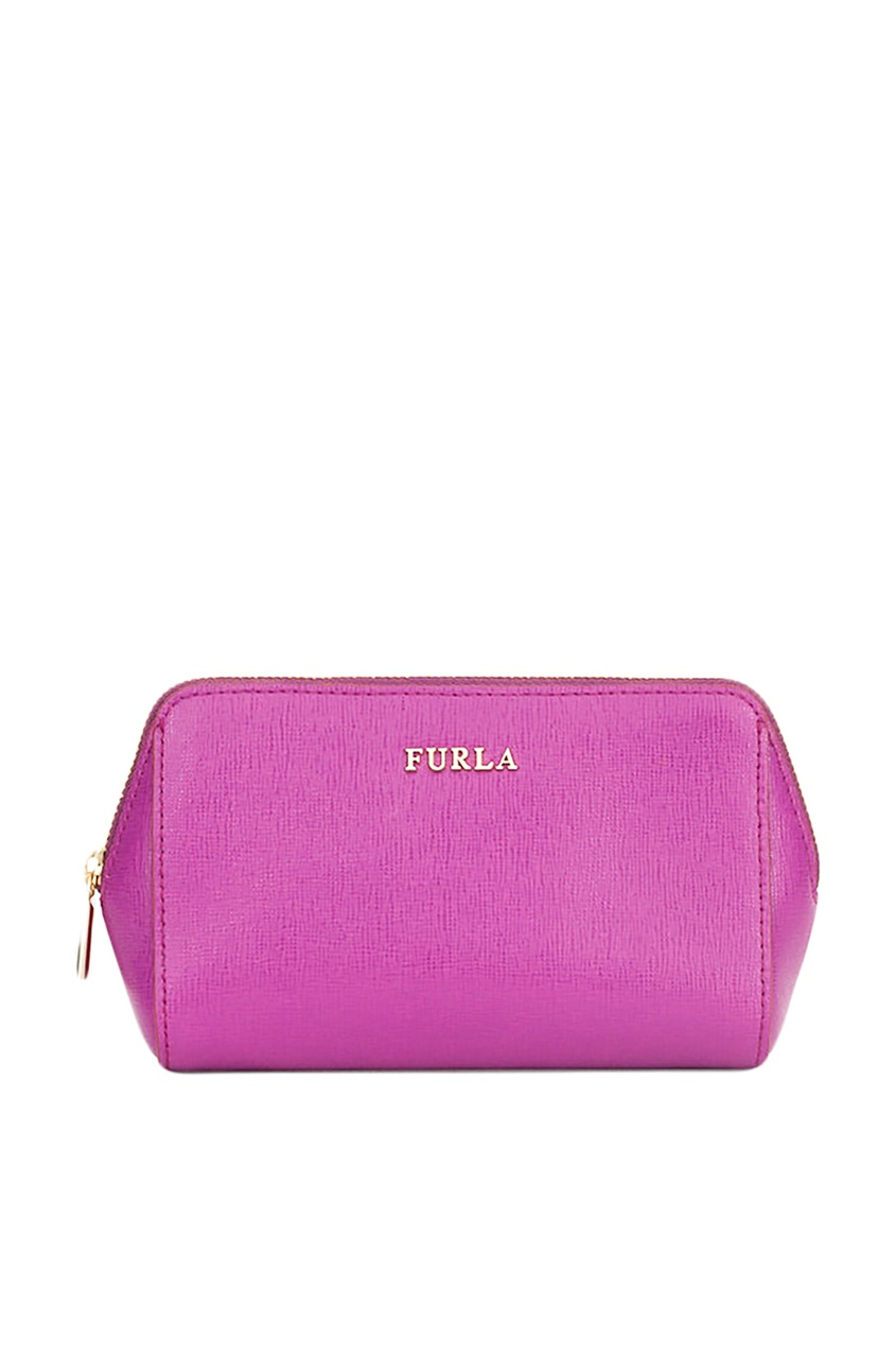 Розовая косметичка Electra Furla