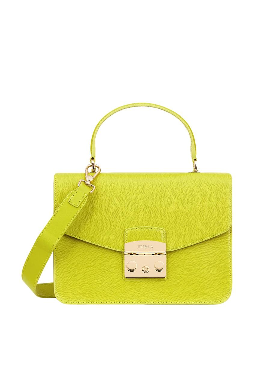 Зеленая сумка Metropolis Furla