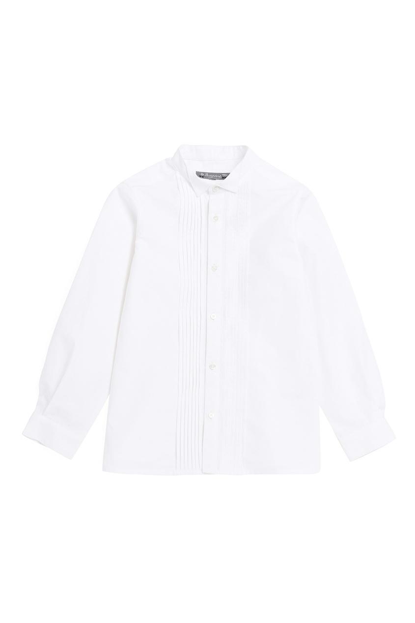 Bonpoint Рубашка белая JULES bonpoint блузка белая gazelle