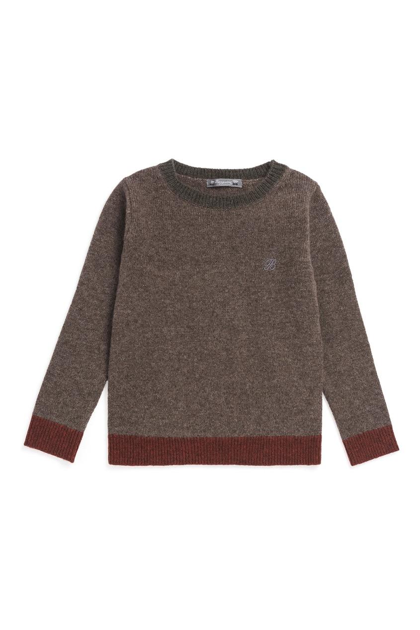 Bonpoint Шерстяной пуловер balenciaga шерстяной пуловер