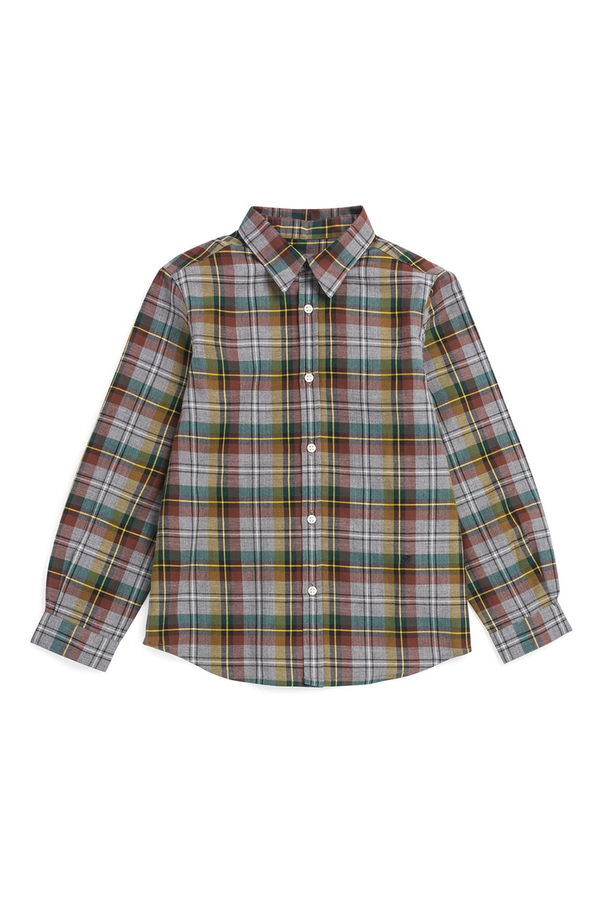 Bonpoint Рубашка серая ACTEUR рубашка topman topman to030embbqq4