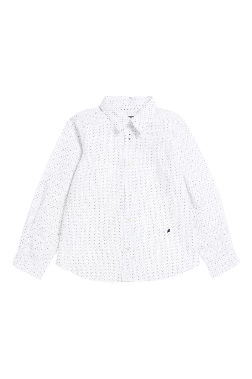 Bonpoint Рубашка ACTEUR белая bonpoint блузка белая gazelle