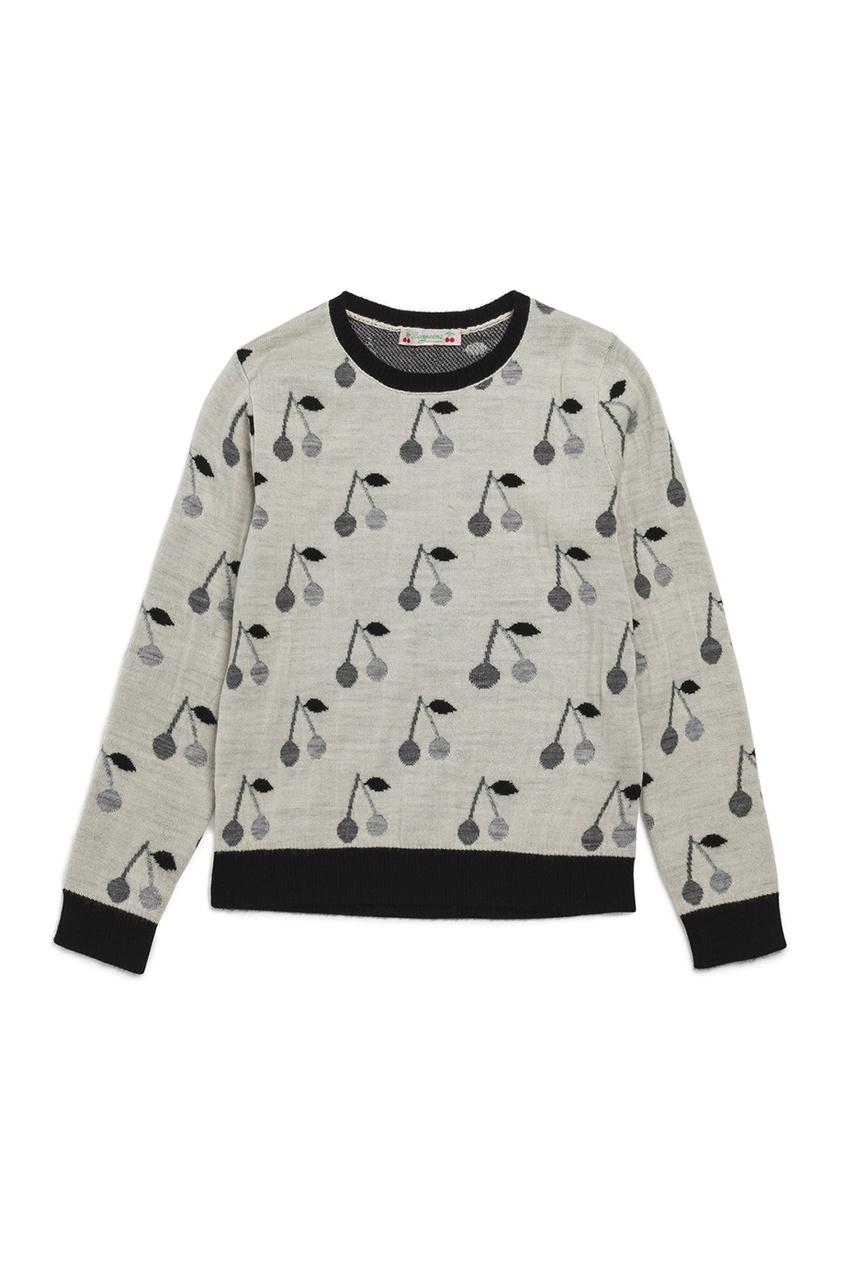 Bonpoint Шерстяной бежевый пуловер balenciaga шерстяной пуловер