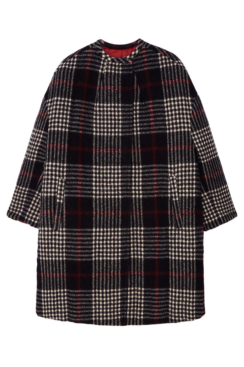 Купить со скидкой Двустороннее шерстяное пальто в клетку Harrison