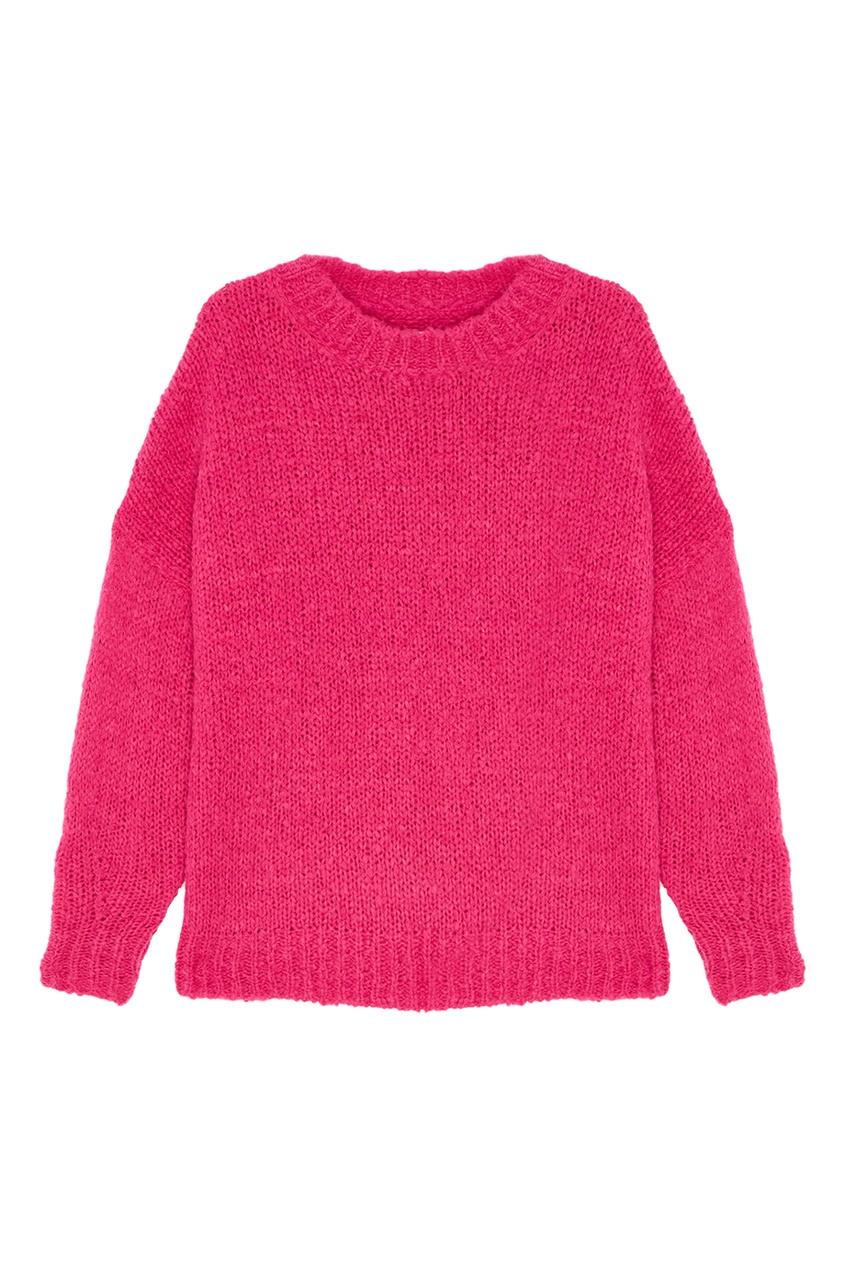 где купить Isabel Marant Etoile Розовый джемпер с альпакой Sayers по лучшей цене