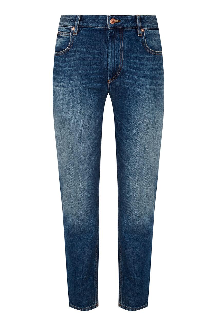 Isabel Marant Etoile Зауженные голубые джинсы Cliff