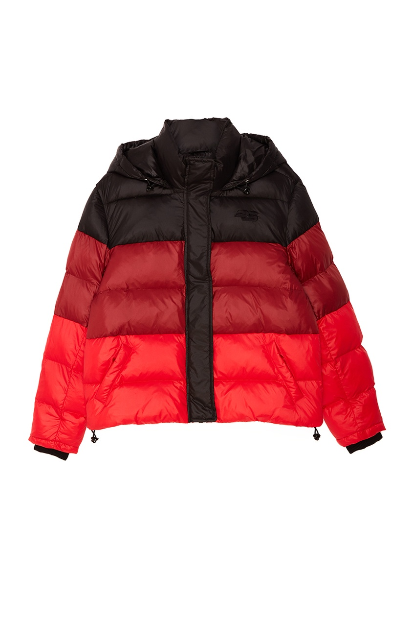 Proenza Schouler Зимняя куртка с комбинированным дизайном