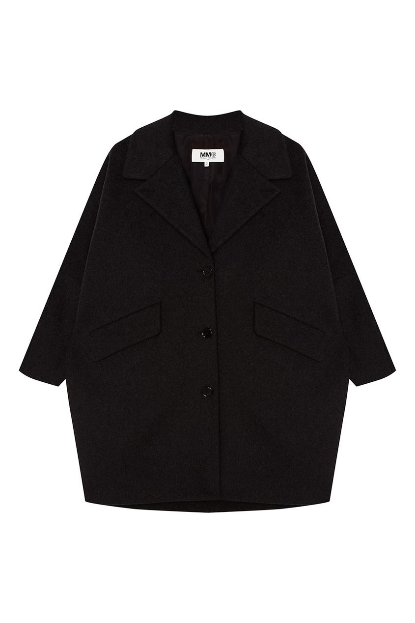 Купить со скидкой Короткое серое пальто