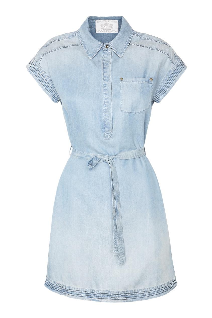 MILA MARSEL Джинсовое платье джинсовое платье quelle ashley brooke by heine 55726
