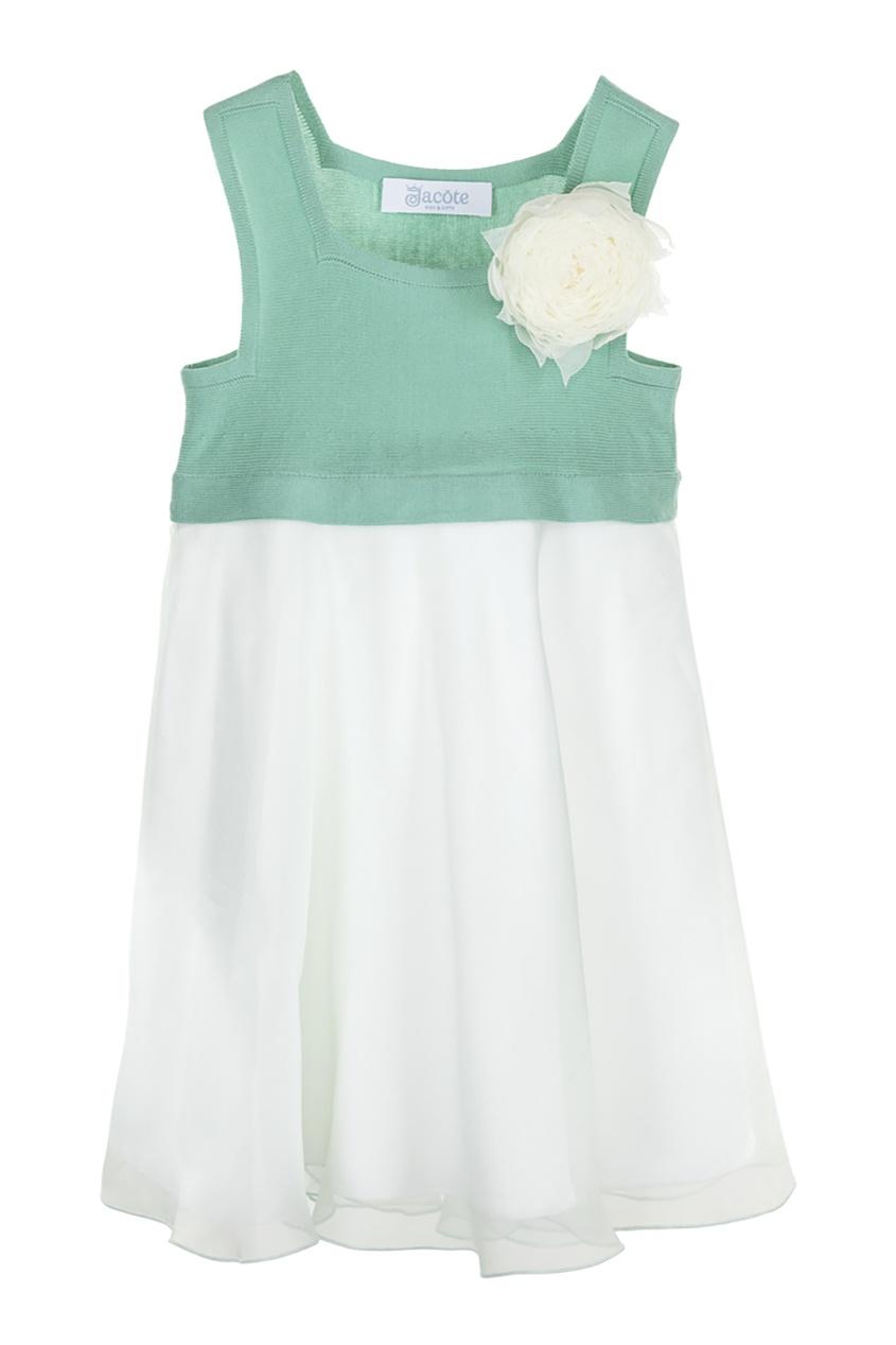 платье jacote, зеленое