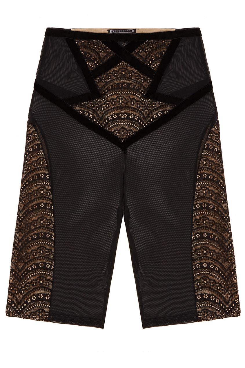 Черные корректирующие шорты Marie-Antoinette Le Journal Intime