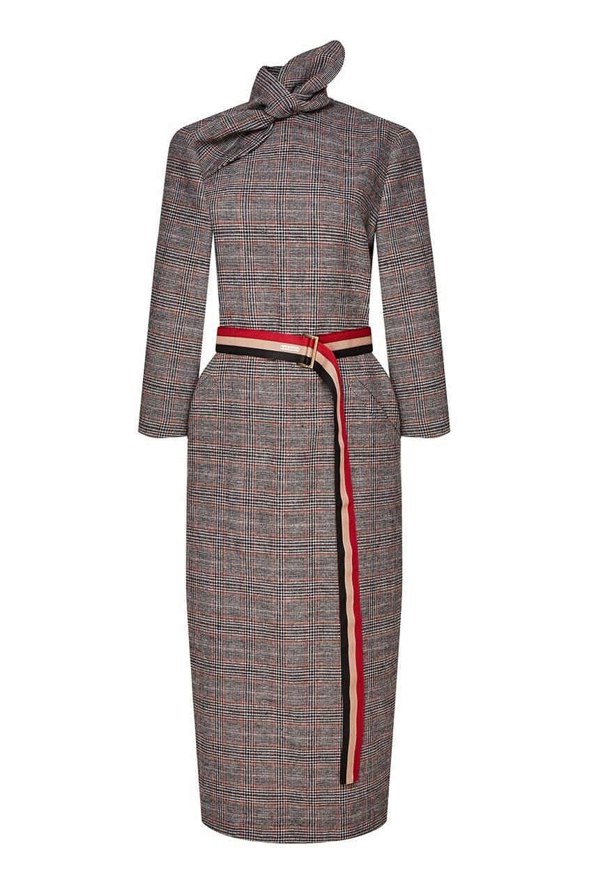 женское платье laroom, серое