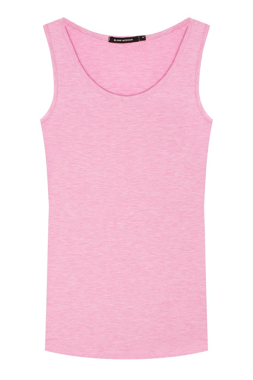 Розовая майка