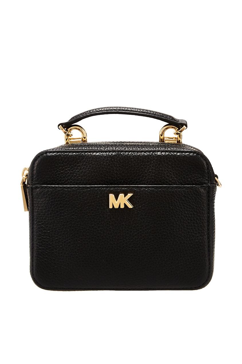 Черная сумка Crossbodies с логотипом Michael Kors