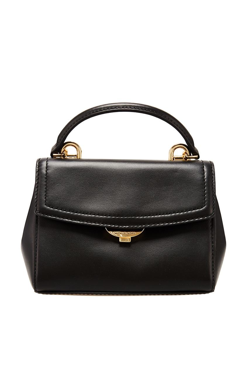 Купить Черная матовая сумка Crossbodies от Michael Michael Kors черного цвета
