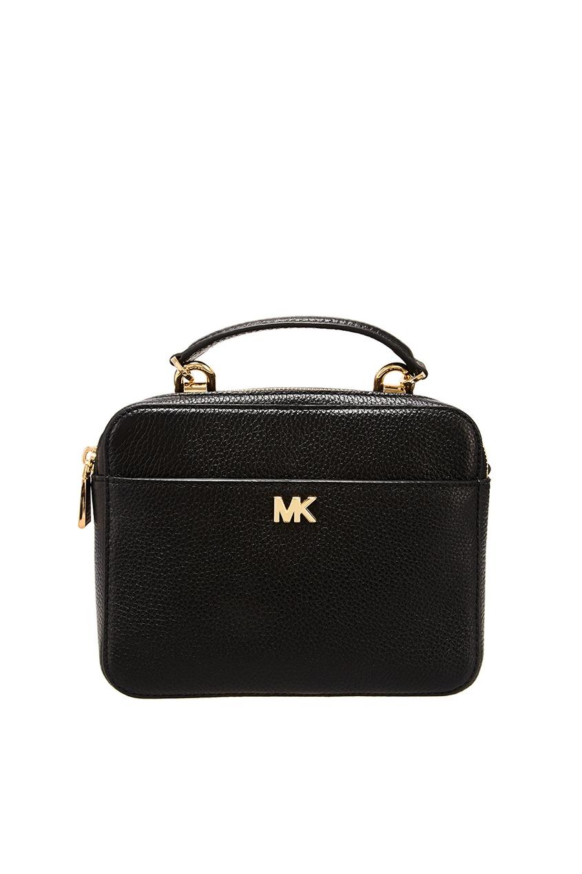 Черная сумка Crossbodies из кожи Michael Kors