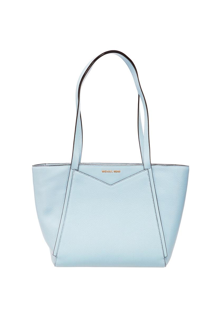 Michael Michael Kors Голубая сумка Whitney жидкость моющая mr proper мистер пропер лимон 0 5л