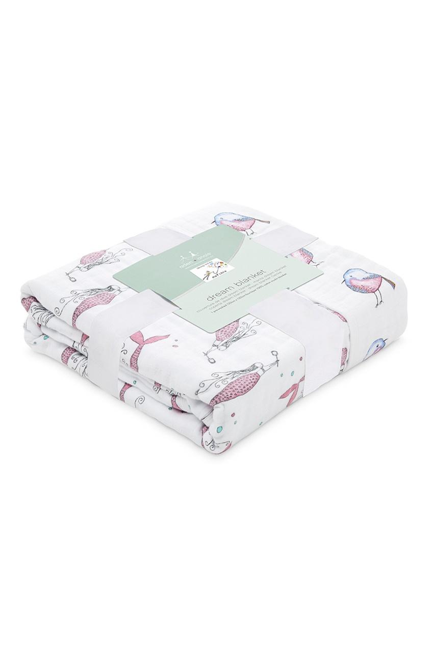Двухсторонне детское одеяло из хлопка