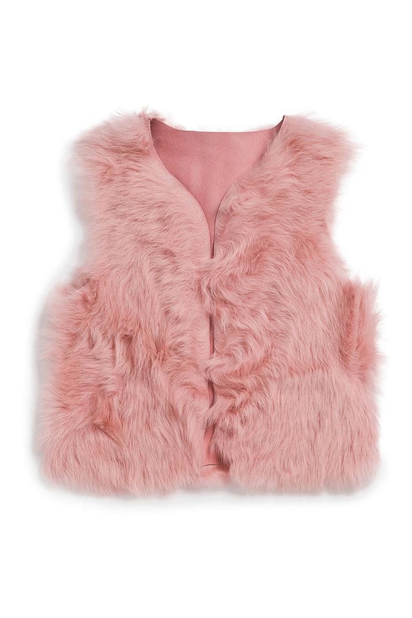 Купить Жилет MINE розового цвета