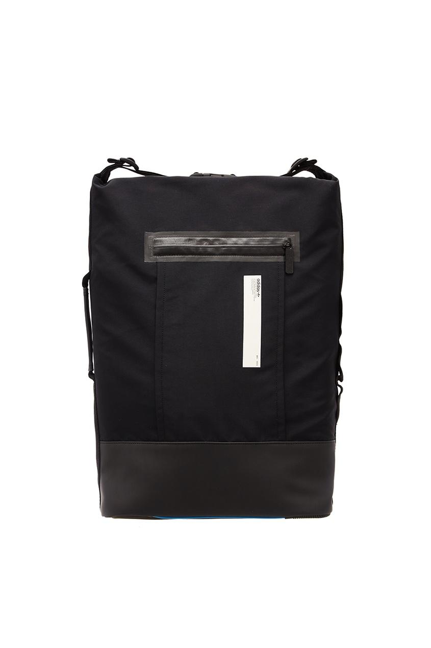 Adidas Черный рюкзак с карманом рюкзак adidas 2015 w58466