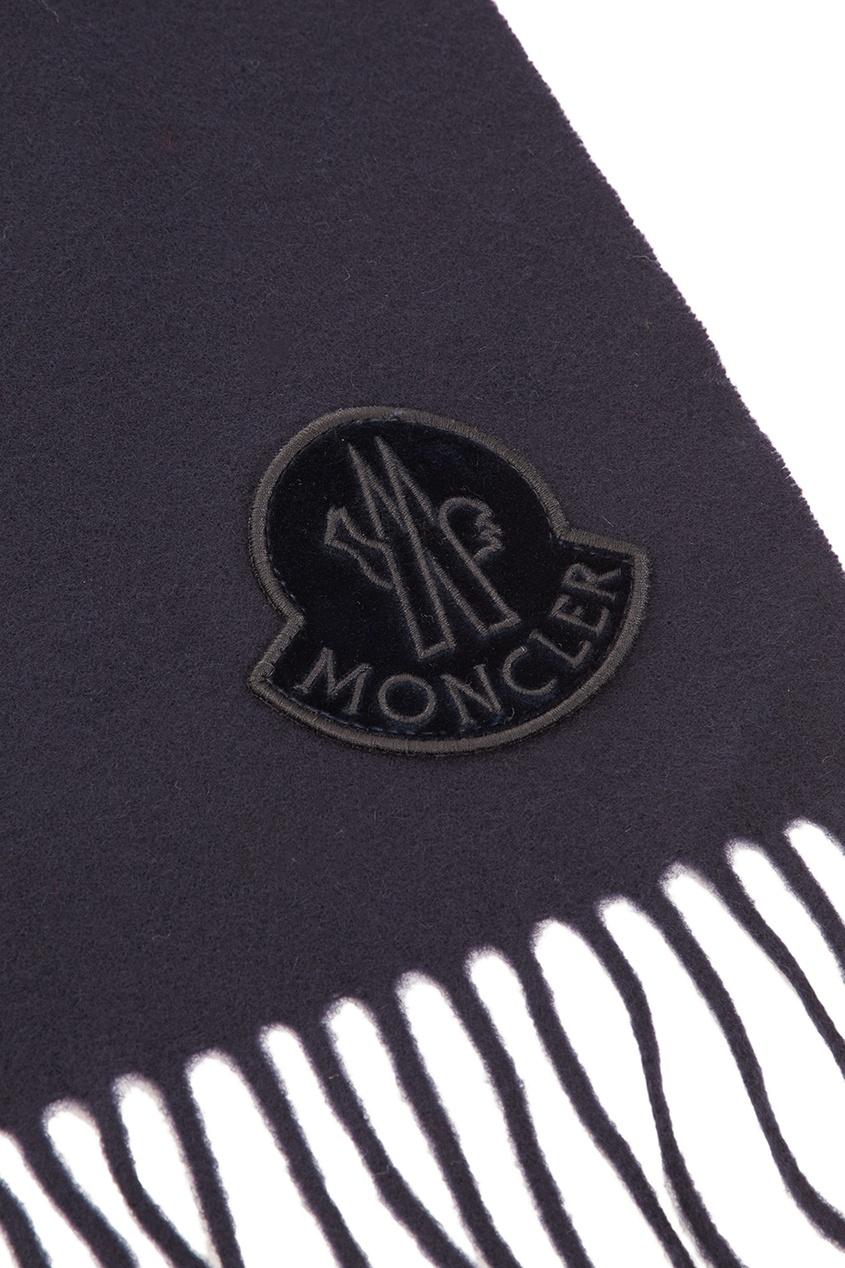 женский шарф moncler, синий