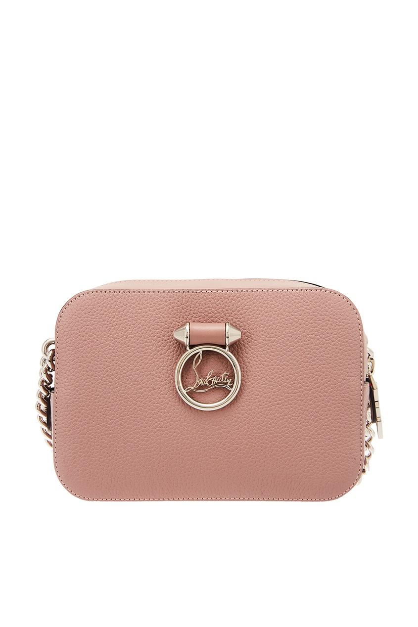 Розовая сумка Rubylou Mini Christian Louboutin