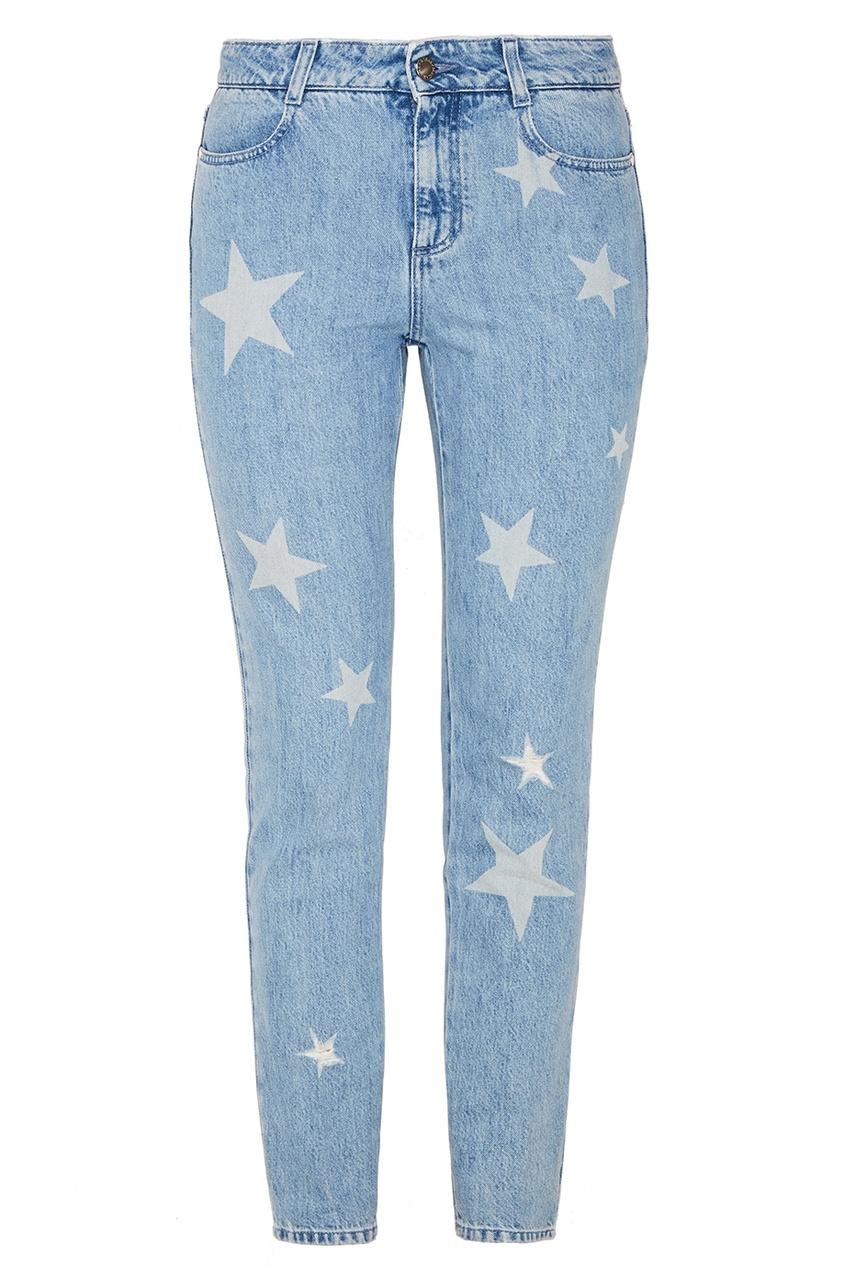 Stella McCartney Джинсы со звездами stella mccartney джинсовая куртка со звездами
