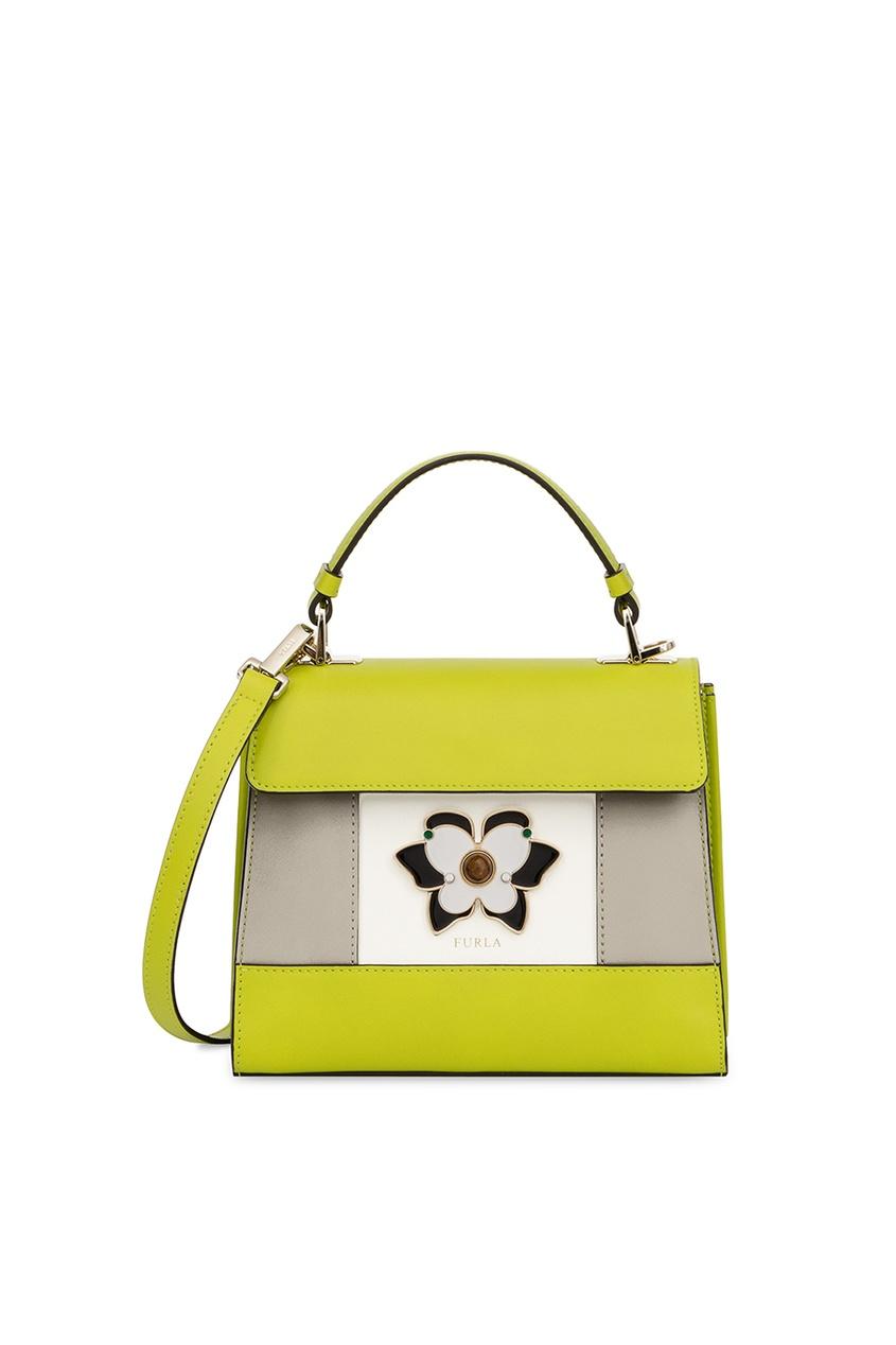 Зеленая сумка Mughetto Furla
