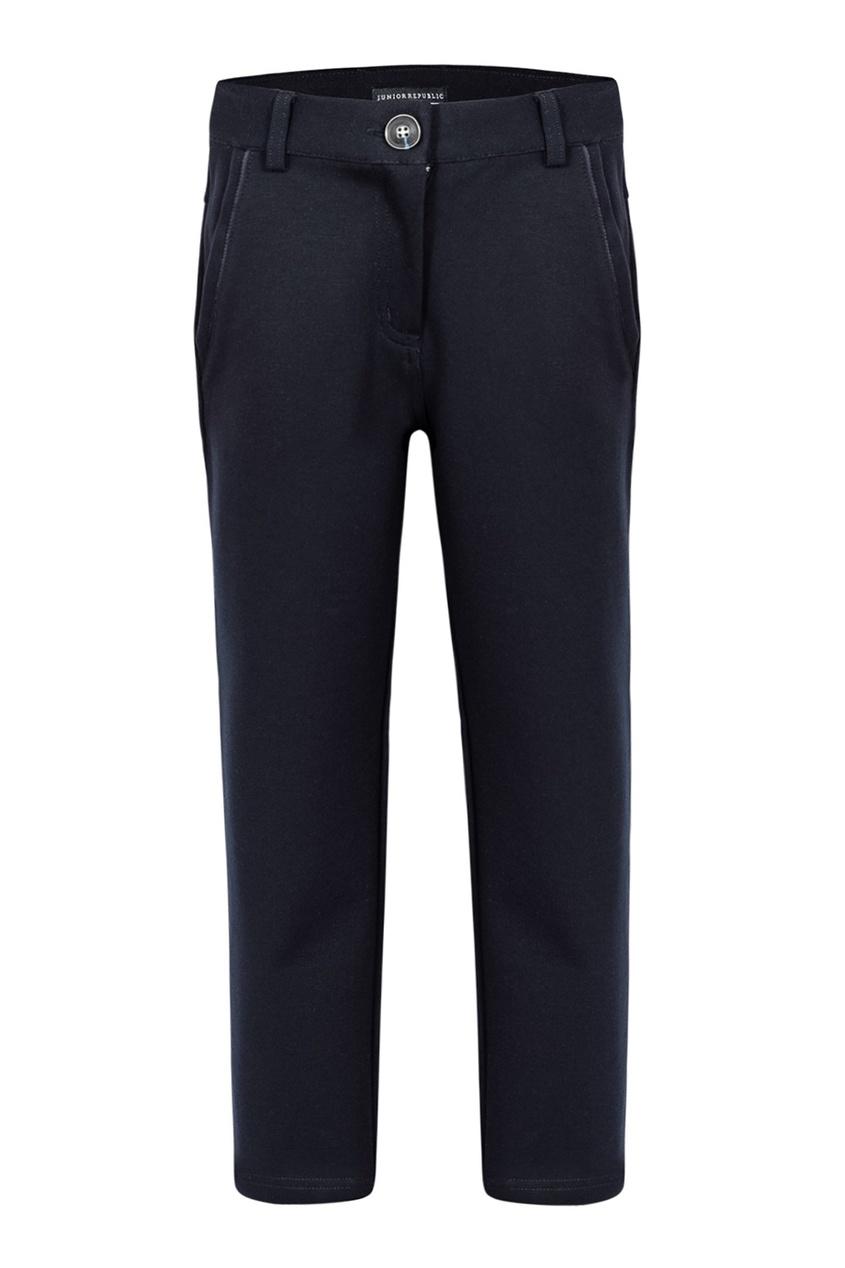 Junior Republic Черные брюки с рельефной отделкой junior republic junior republic