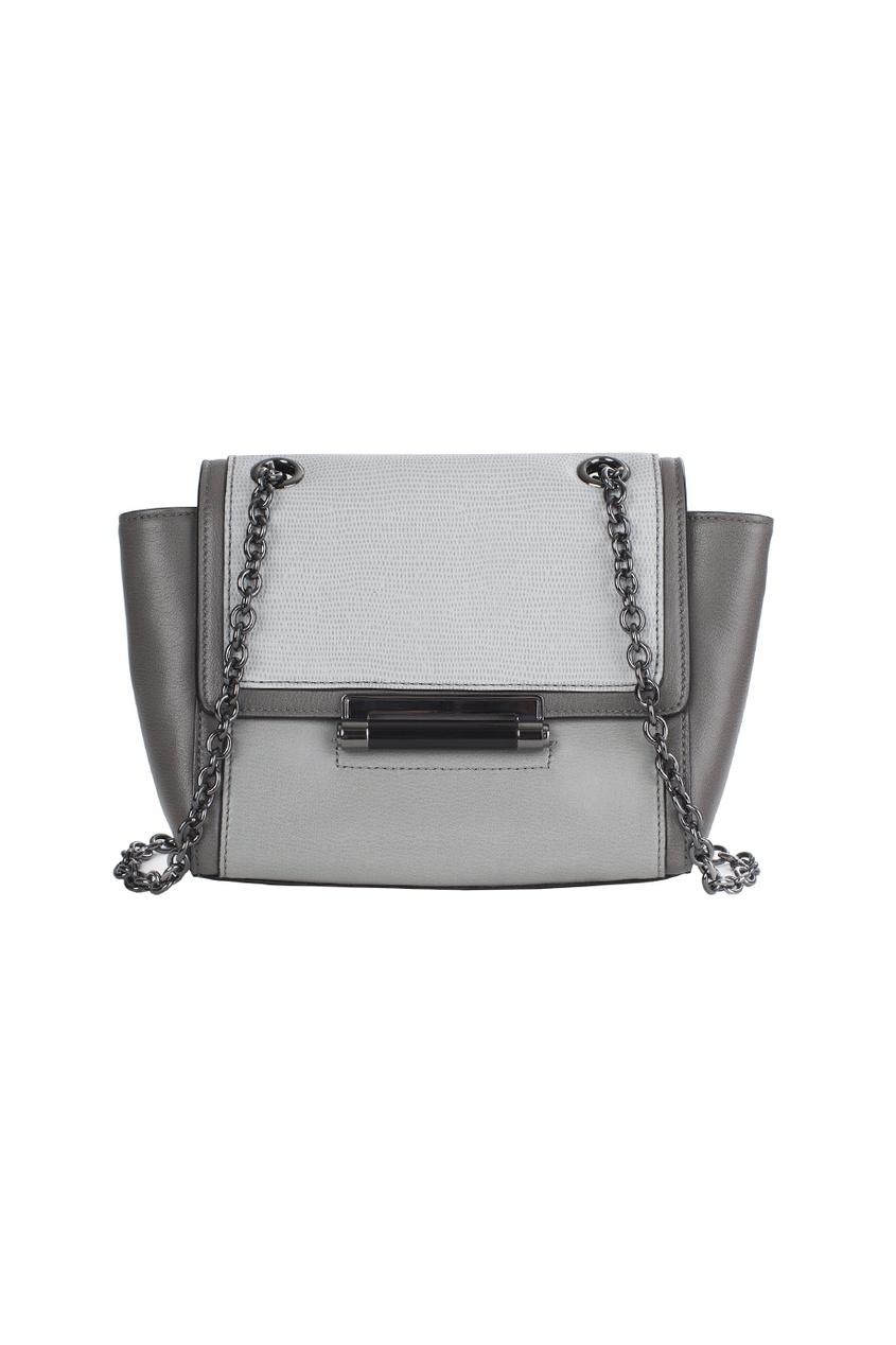 Кожаная сумка Mini Cb Emb Lzrd
