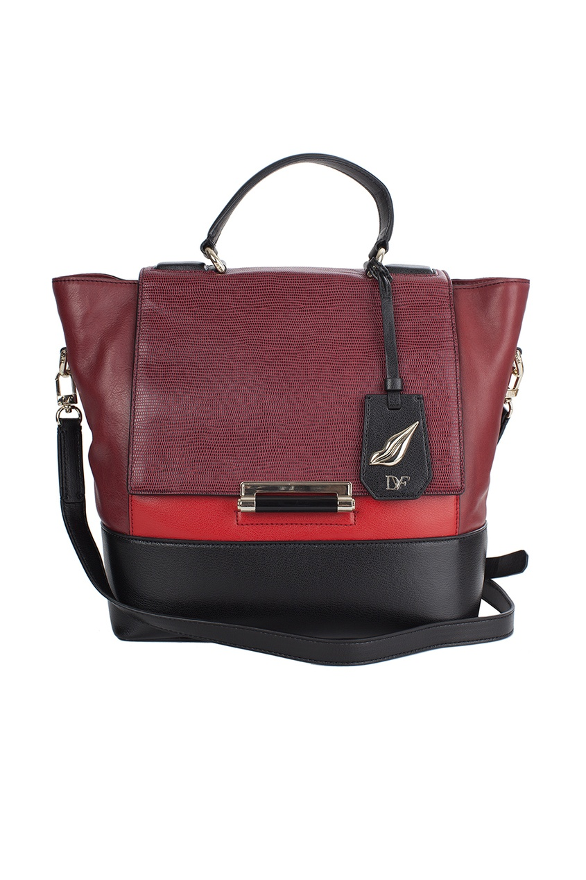 Кожаная сумка Top Hdl Sm Cb Emb