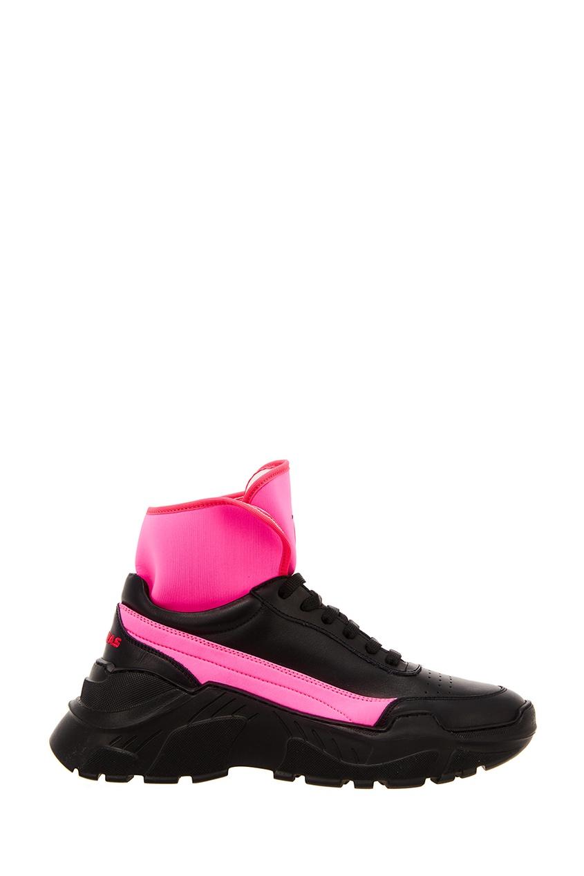 Joshua Sanders Черные кроссовки с цветными вставками joshua sanders сандалии из денима