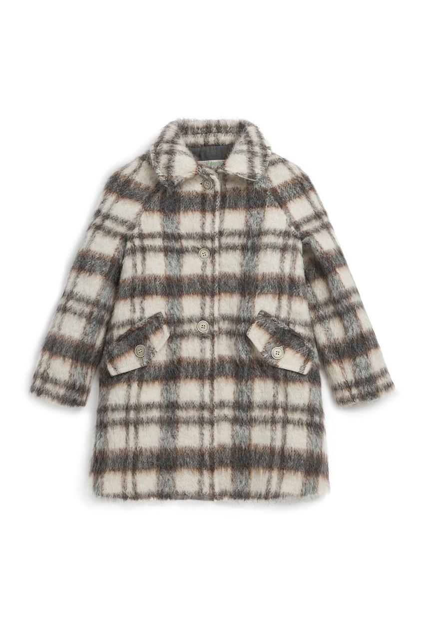 Купить Пальто DEDICACE серого цвета